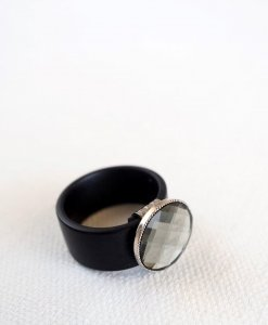 טבעת סיליקון אורבנית אפורה