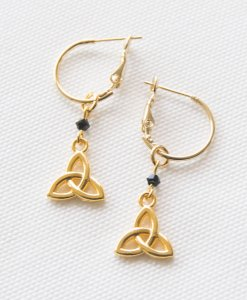 Infiniti Gold Earrings
